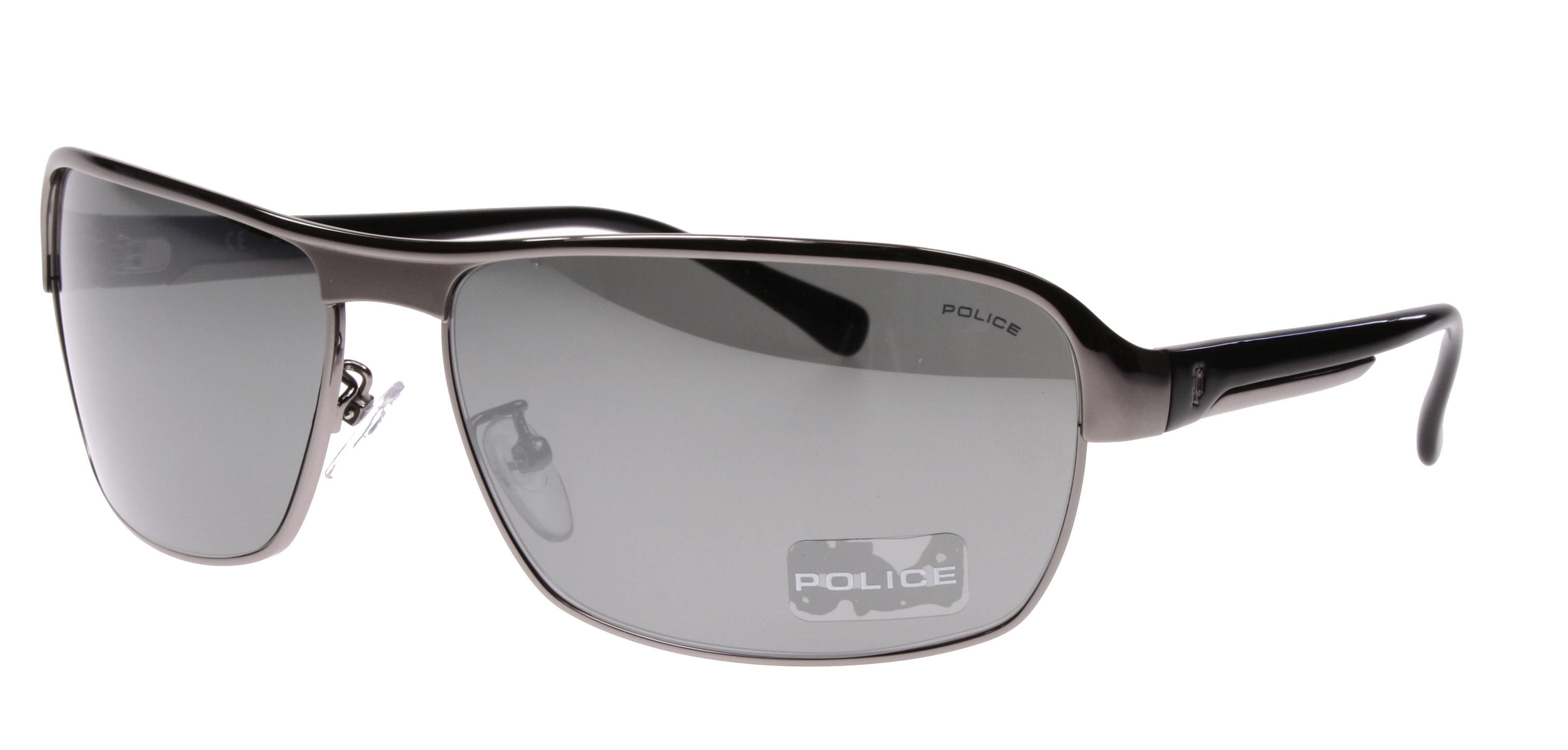 Gold Frame Police Sunglasses : AUTHENTIC NEW 8410 POLICE SUNGLASSES S8410 584X BLACK ...