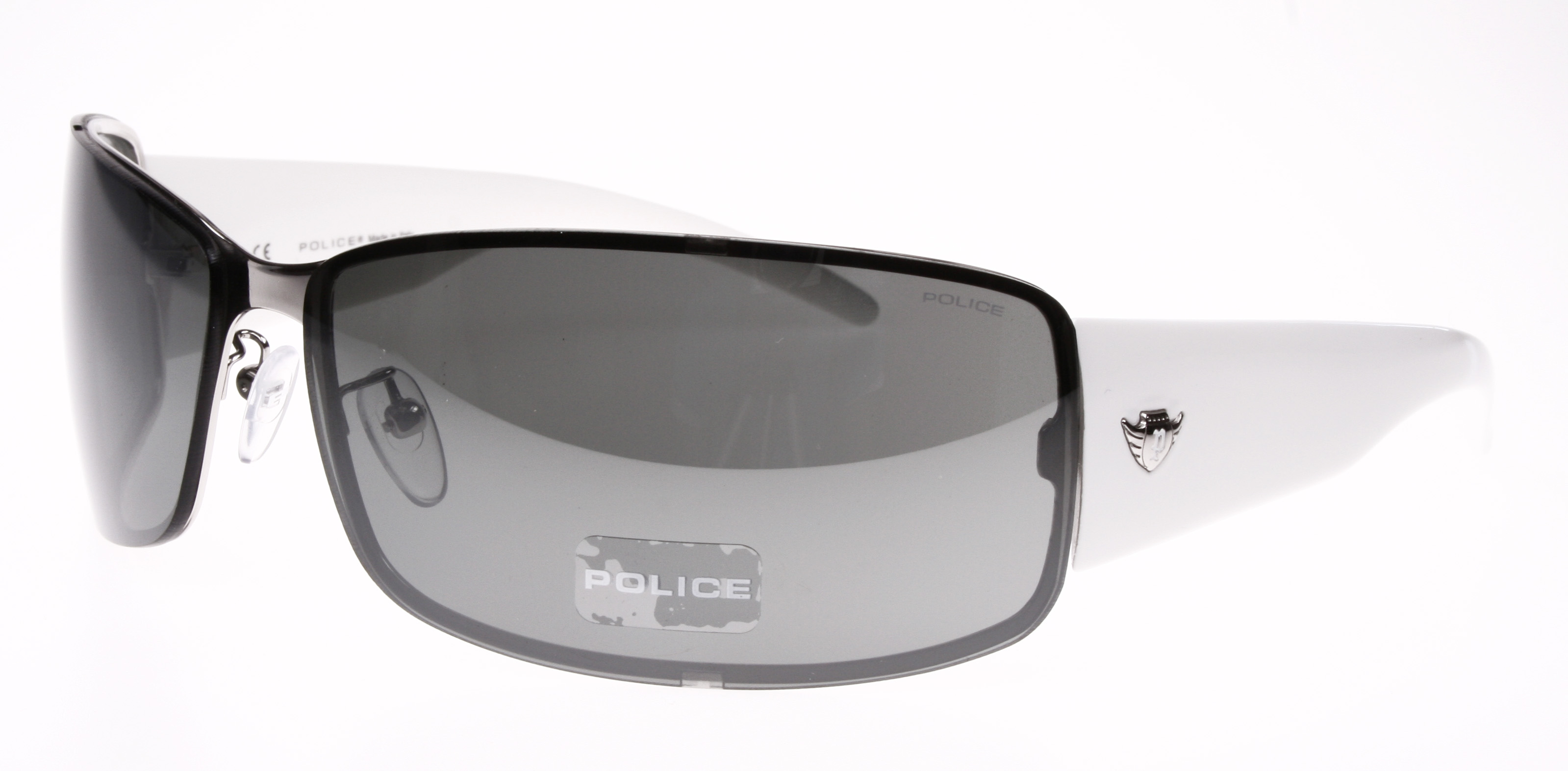 8a37778515 AUTHENTIC NEW 8413 M POLICE SUNGLASSES S8413 579X WHITE